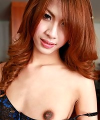 Pretty ladyboy with a fat cock!